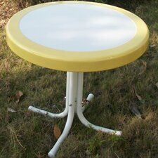 <strong>4D Concepts</strong> Metal Retro Round Side Table