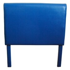 Boys Faux Leather Twin Upholstered Headboard