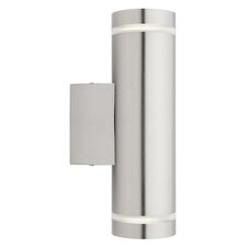 Barbados 2 Wall Light in Stainless Steel 304