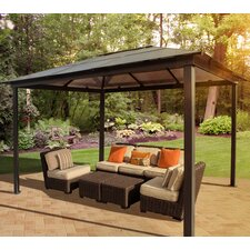 "Madrid Four Season 9' 6"" H x 10' W x 13' D Gazebo"