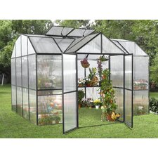 9' H x 10.0' W x 10.0' D Royal Garden Polycarbonate Greenhouse