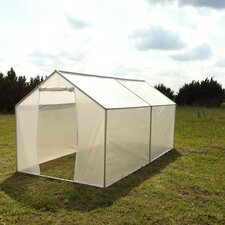 6' H x 6.0' W x 14.0' D Backyard Hobby Greenhouse
