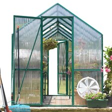 Easygrow 7' H x 8.0' W x 8.0' D Polycarbonate Greenhouse