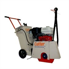 "<strong>Cutter Diamond</strong> 13 HP 18"" Blade Capacity Heavy Duty Walk Behind Floor Saw"
