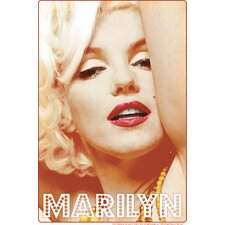 Marilyn Glamour Tin Sign Graphic Art