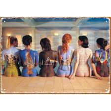 Pink Floyd Back Art Tin Sign Graphic Art