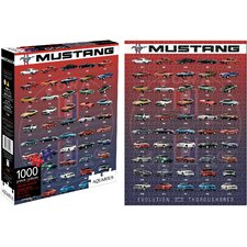 Ford Mustang Evolution 1000 Piece Jigsaw Puzzle