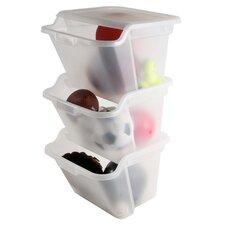 Stackable Storage Bins (Set of 6)