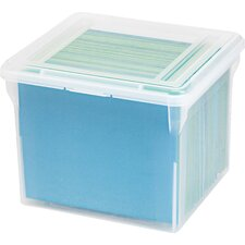 Letter Size File Box (Set of 6)
