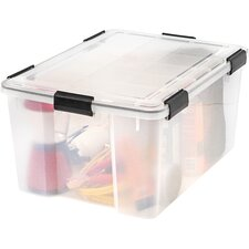 Weather Tight Plastic Storage Box (Set of 4)