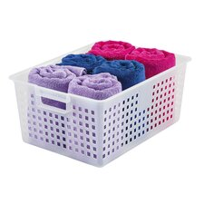 Plastic Storage Basket (Set of 6)