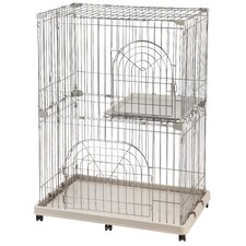 2-Tier Wire Cat Cage