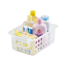 Plastic Storage Basket (Set of 8)