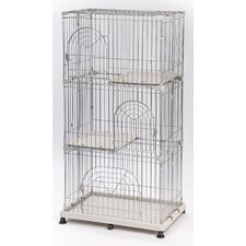 3-Tier Wire Cat Cage
