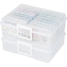 Photo and Craft Storage Organizer (Set of 2)