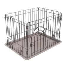 "16"" Wire Containment Dog Pen"