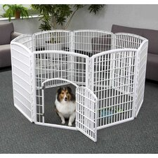 8-Panel Indoor/Outdoor Pet Pen