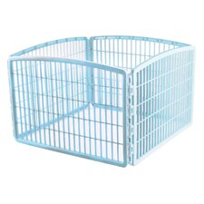 "23.63"" 4 Panel Indoor/Outdoor Pet Pen"