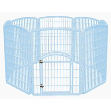 "34.25"" 8 Panel Indoor/Outdoor Dog Pen"