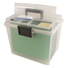 <strong>Iris</strong> Letter Weathertight Portable File Box
