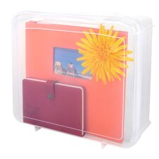 Scrapbook Portable Project Case with Handle
