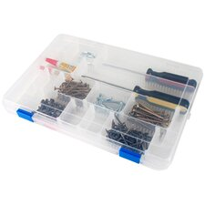 <strong>Iris</strong> Craft 3-24 Compartment Large Case with Buckles