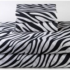 Zebra Standard Pilllowcase (Set of 2)