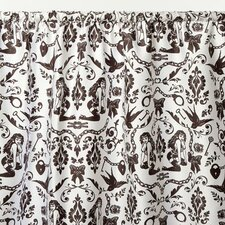 Raven's Cotton Sateen Rod Pocket Curtain Single Panel