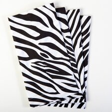 Zebra Cotton Napkin (Set of 4) (Set of 4)