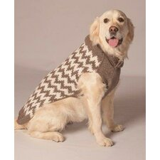 <strong>Chilly Dog</strong> Chevron Dog Sweater