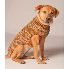 Harvest Cable Dog Sweater