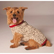 <strong>Chilly Dog</strong> Cable Knit Dog Sweater