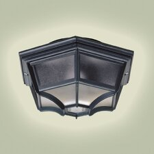 <strong>Endon Lighting</strong> 1 Light Ceiling Semi-Flush Light