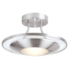 1 Light Semi Flush Light