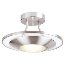 1 Light Semi-Flush Ceiling Light