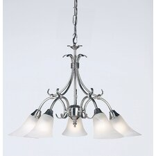Downlight 5 Light Chandelier