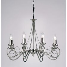 <strong>Endon Lighting</strong> 8 Light Swirl Chandelier