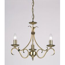 3 Light Large Chandelier