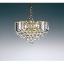 3 Light Large Crystal Chandelier