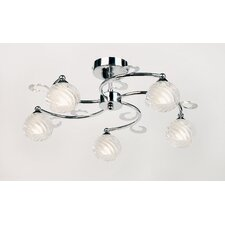 Minuet 5 Light Semi Flush Light