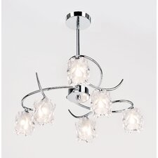 Picado 6 Light Chandelier