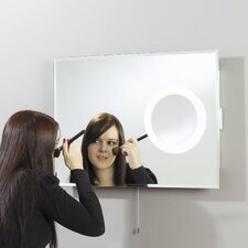 Endon 2011 Backlit Mirror with Small 3x Magnification Mirror on the Right