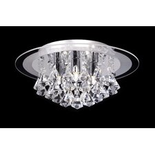 5 Light Flush Mount
