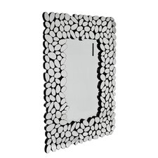 Pebble Mirror in Clear