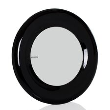Porthole Mirror in Pewter