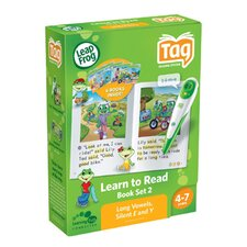 Leapfrog Tag Learn To Read Phonics Book Set 2: Long Vowels, Silent E & Y