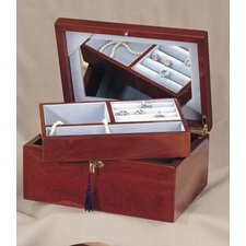 Treasure Chest Jewellery Box in Brown