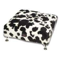Luxury Pet Ottoman with Designer Cover
