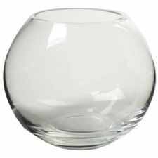 Ball Vase / Fish Bowl in Clear