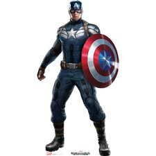 Captain America - CA2 Winter Soldier Cardboard Stand-Up